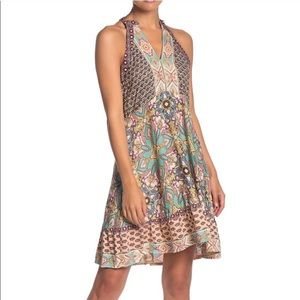 NWT Angie Floral Tank mini Dress